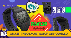 Amazfit Neo Retro Smartwatch Revealed, Priced at Just RM139 During Pre-Launch