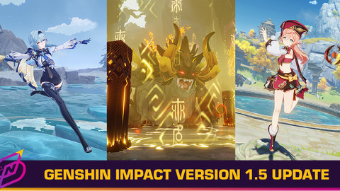 Genshin Impact 1.5 Update: New Characters, World Bosses, Housing System and More