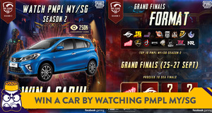 Want to Win a Myvi? Watch the PMPL MY/SG Season 2 Grand Finals