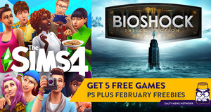 Finally Some Great Games: Get the BioShock Collection and The Sims 4 Free with PS Plus This February