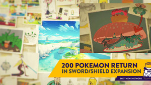 Pokemon Sword/Shield Gets an Expansion Pass, New Legendaries, and 200 Existing Pokemon