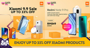 Enjoy up to 33% Off Xiaomi Products During the 9.9 Sale