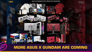 More ASUS x Gundam Products are Coming
