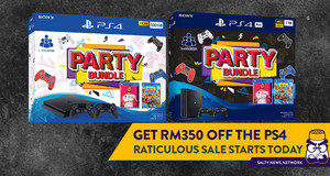 Enjoy RM350 Off the PS4 and PS4 Pro in the 'Raticulous Offers' Sale