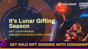 Give and Get: Receive Poro Coins with Codashop's Lunar Gifting Event