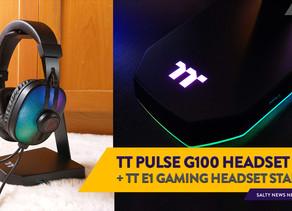 [Review] Thermaltake Pulse G100 RGB Gaming Headset & Thermaltake E1 RGB Gaming Headset Stand