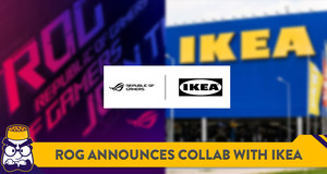 ROG to Collaborate with IKEA on Gaming Furniture Collection