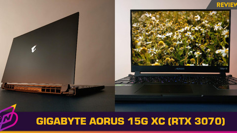 [Review] More Muscle, Fewer Frills: The Gigabyte Aorus 15G XC (2021)