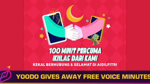 Yoodo Celebrates Hari Raya with 100 Free Voice Minutes