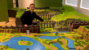 Junichi Masuda Shows Off Massive Diorama of Pokemon Sword and Shield's Wild Area