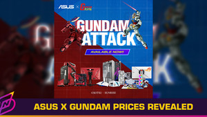 Here's How Much the ASUS x Bandai Gundam Collection Costs