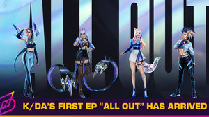 """K/DA Finally Drops """"ALL OUT"""" - And No, There Won't Be a Physical Release (Yet)"""
