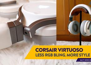 [Review] Luxury Meets Versatility: Corsair Virtuoso RGB Wireless Hi-Fidelity Gaming Headset
