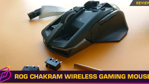 [Review] A Gaming Mouse with a Programmable Joystick: The ROG Chakram