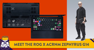 ROG Partners with ACRONYM to Create a Special Edition Zephyrus G14