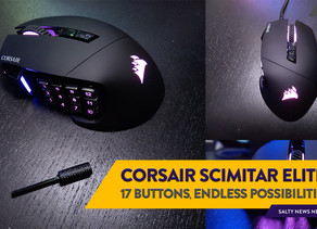 [Review] Not Just for Gamers: The Corsair Scimitar RGB Elite Optical Gaming Mouse