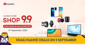 4 Reasons to Catch HUAWEI's 9.9 Super Sale