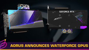 """Gigabyte's New Aorus RTX 30 Series """"Waterforce"""" Graphics Cards Can Detect Leaks"""