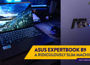[Review] Paper-thin Portability: The ASUS ExpertBook B9