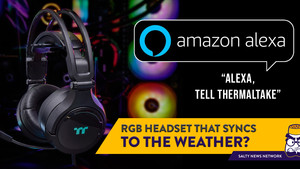 Talk to Your Headset: Thermaltake Announced a Gaming Headset That Works with Alexa