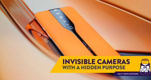 The OnePlus Concept One Smartphone has an 'Invisible' Peekaboo Camera
