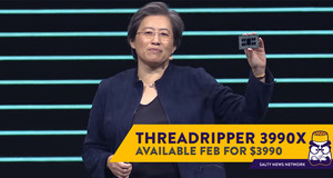 The 64-Core AMD Ryzen Threadripper 3990X CPU Retails for - You Guessed It - USD3,990