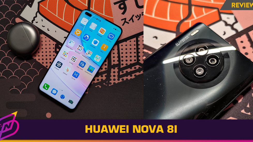 [Review] A Mid-ranged Device with a Huge Screen: The Huawei nova 8i