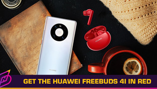 The HUAWEI FreeBuds 4i Now Comes in Red