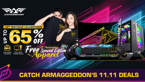 Armaggeddon Celebrates 10th Anniversary with Discounts up to 65%