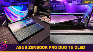 [Review] Powerful Multitasking with a Gorgeous Display: The ASUS ZenBook Pro Duo 15 OLED