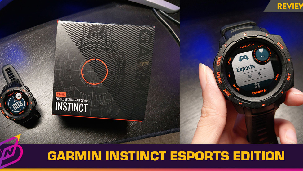 [Review] Right Features, Wrong Body: The Garmin Instinct Esports Edition
