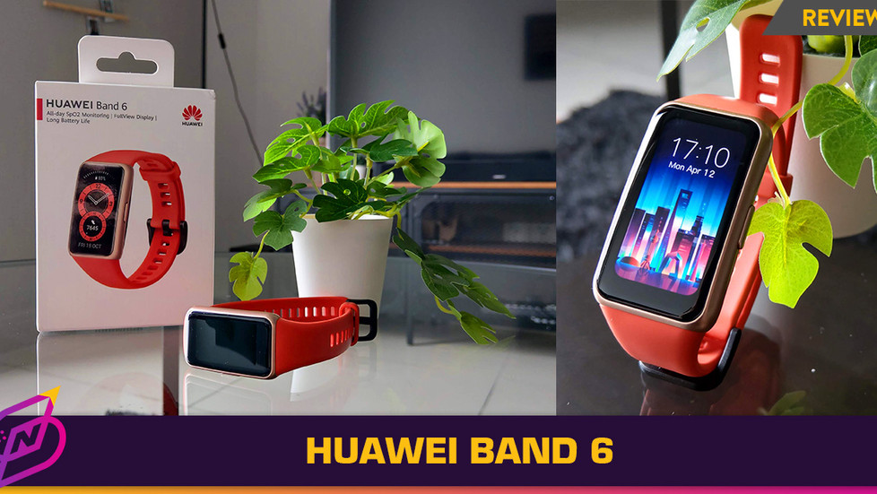 [Review] Small Yet Feature-Filled: The Huawei Band 6