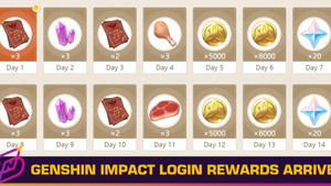 Genshin Impact's Daily Login Rewards are Here, and They're Underwhelming