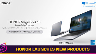 HONOR Announces New MagicBook 15 and Band 6