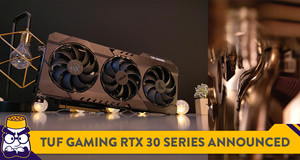 The ASUS TUF Gaming GeForce RTX 30 Series GPU is Now Available in Malaysia