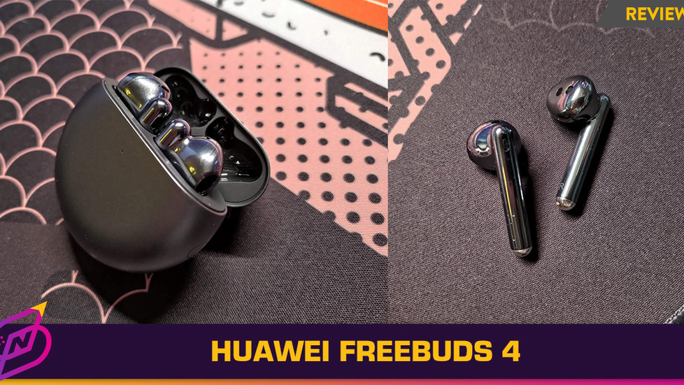 [Review] Open-Fit ANC Earbuds with Great Battery Life: The Huawei FreeBuds 4