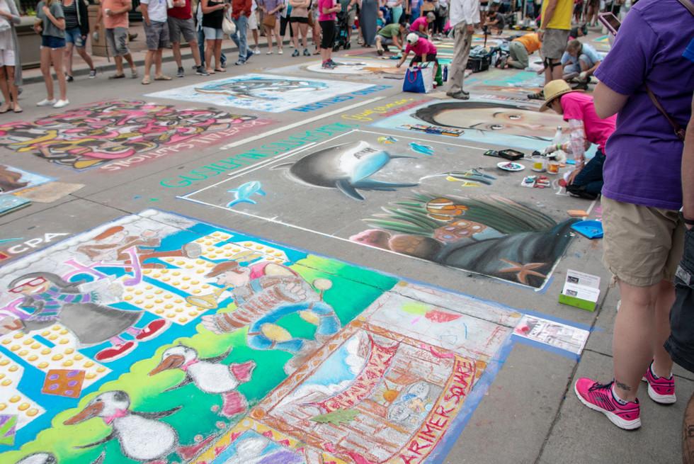 Chalk Art VII
