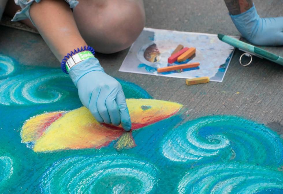 Chalk Art XVI