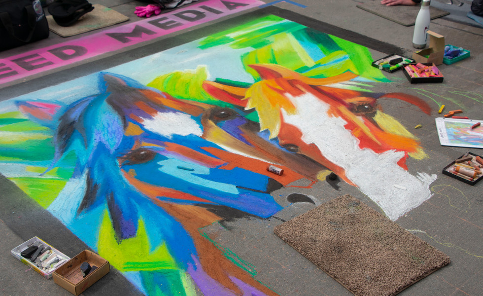 2018 Denver Chalk Art Festival
