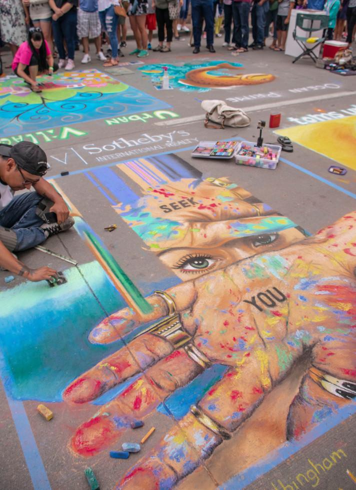 Chalk Art XIII