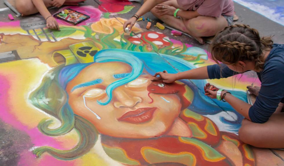 Chalk Art I