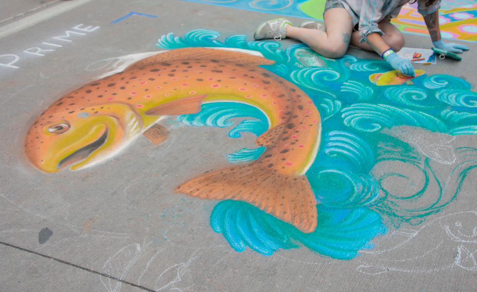 Chalk Art XVIII