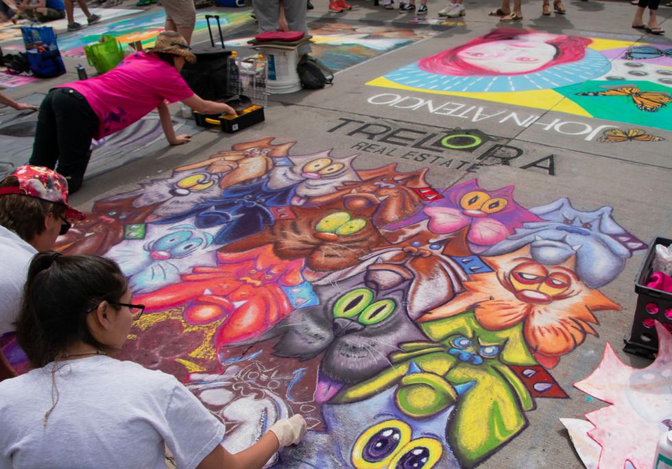 Chalk Art XII