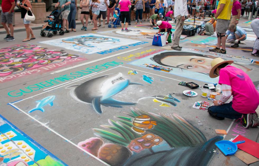 Chalk Art IX