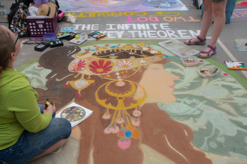 Chalk Art XV