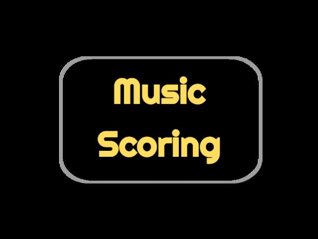 Original music scoring