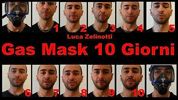 gas mask 10 giorni luca zelinotti master