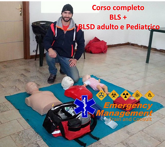 emergency management corso bls adulto e pediatrico