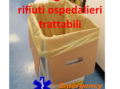 emergency management corso rot rifiuti ospedaliri trattabili