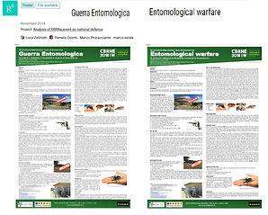 Entomological warfare (Guerra Entomologica) zelinotti serale procacciant comi luca mster cbne